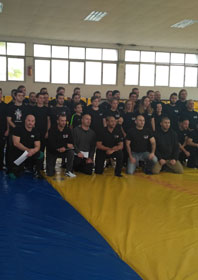 P level test & Full Contact fighting Seminar